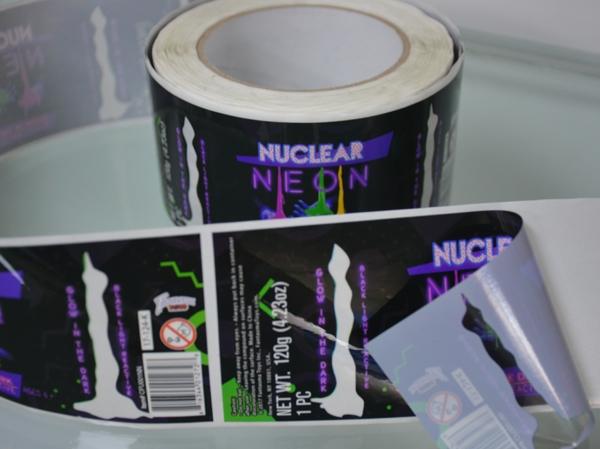 龙华透明不干胶标签制作