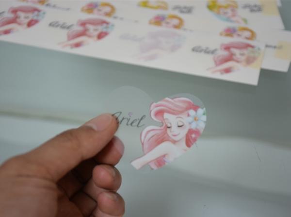 上海透明不干胶标签制作